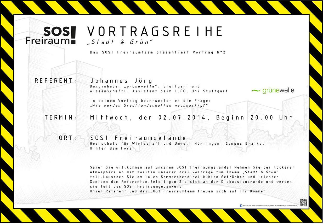 SOS-Freiraum-Vortrag